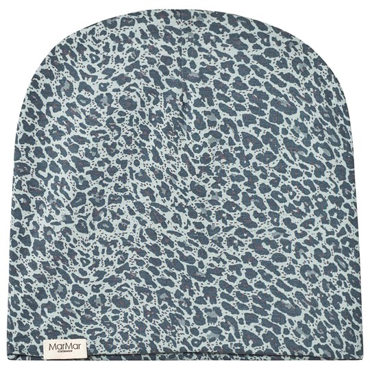 MarMar Copenhagen Shaded Blue Leopard Hat Shaded Blue Leo