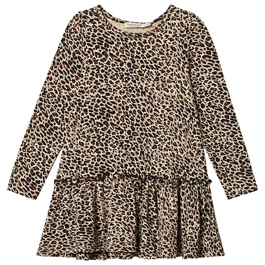 MarMar Copenhagen Brown Leo Dress Brown Leo