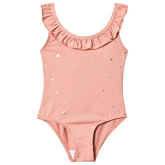 MarMar Copenhagen Gold Dots Swimsuit Gold dots