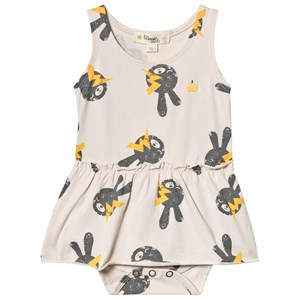 Image of The Bonnie Mob Bunny Dress Baby Body Sand 12-18 mdr (3125342117)
