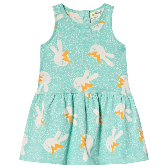 The Bonnie Mob Bunny Dress Aqua AQUA BUNNY