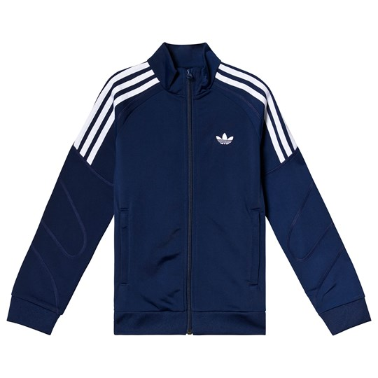adidas Originals Navy Branded Track Jacket dark blue/white