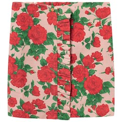 The Animals Observatory Cat Kids Skirt Nude Roses