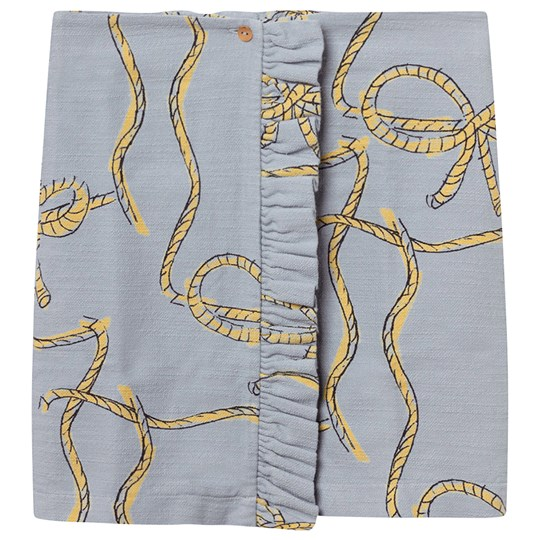 The Animals Observatory Cat Kids Skirt Blue Ropes Blue Ropes