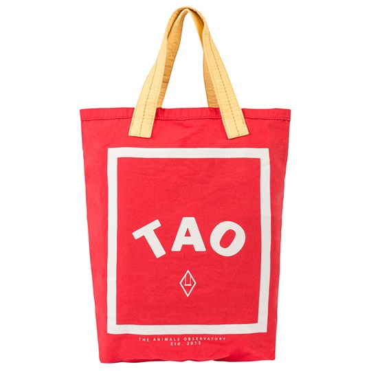 The Animals Observatory Tote Bag Onesize Bag Red Tao Red Tao