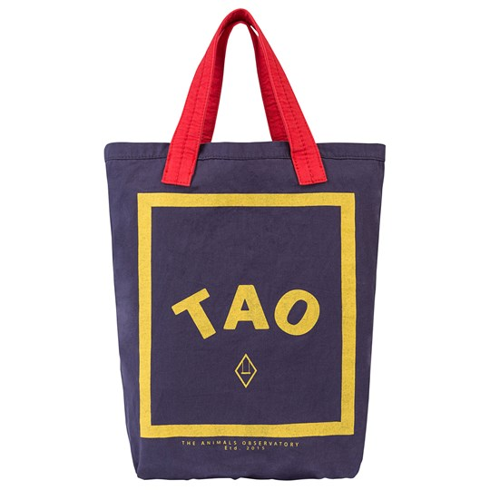The Animals Observatory Tote Bag Onesize Bag Navy Blue Tao Navy Blue Tao