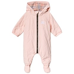 Burberry Dusty Pink Diamond Quilted Coverall
