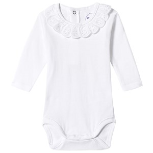 Image of Absorba White Broderie Body 12 months (3125316923)