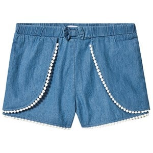 Image of Absorba Blue Chambray Shorts 12 months (3125309463)