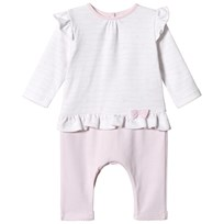 d461db8db Absorba Pink and White Ruffle Babygrow 30