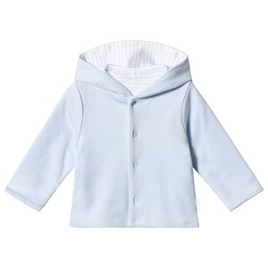 Image of Absorba Reversible Pale Blue Stripe Hooded Cardigan 12 months (3125307617)