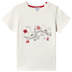 Image of Absorba White London Map Print Tee 12 months (3125325495)