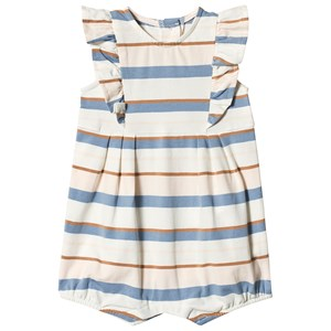 Image of Absorba Stripe Jersey Bubble Romper 12 months (3125307675)