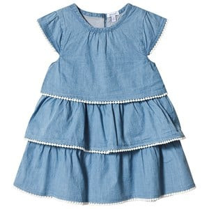 Bilde av Absorba Blue Chambray Dress 24 Months