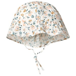 Image of Absorba Floral Embroidered Sun Hat 39 (1-3 months) (3125308525)
