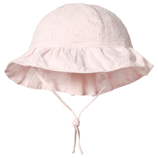 Absorba Pink Floral EmbroideredSun Hat 30