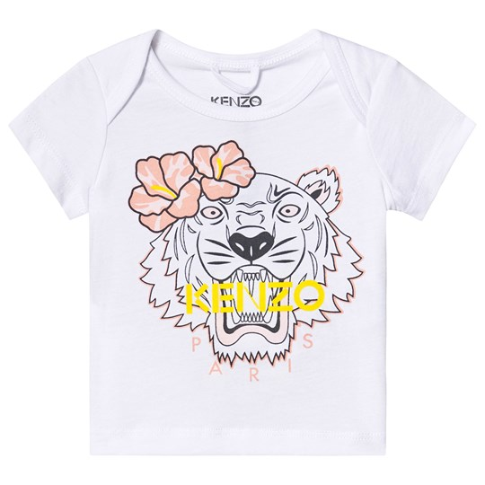 Kenzo Optic White Tiger Tee 01