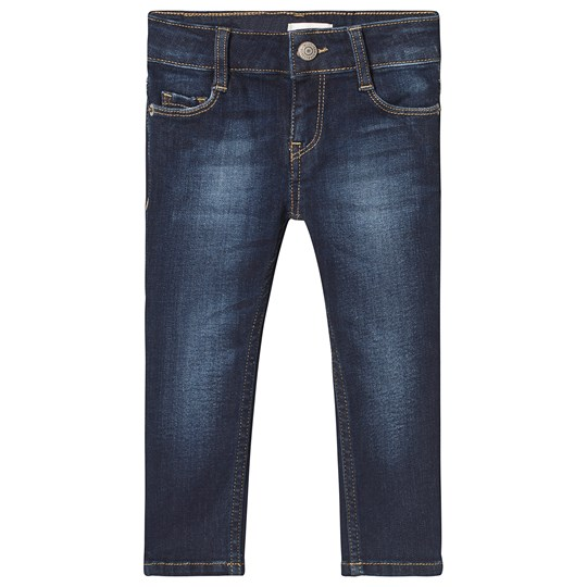 Levis Kids Blue Dark Wash 711 Skinny Jeans 46