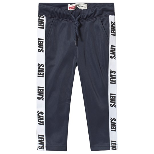 Levis Kids Navy Tricot Track Pants with Logo Trim 48