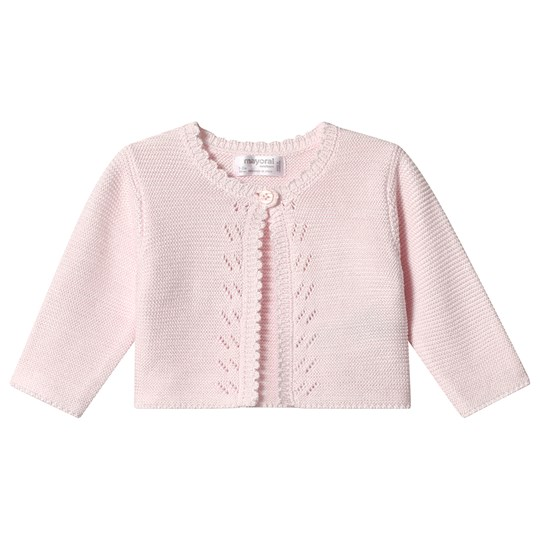 Mayoral Pink Knit Cardigan 29