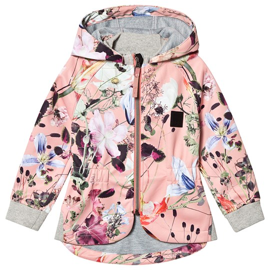 Molo Hillary Soft Shell Jacket Flowers Of The World Flowers Of The World