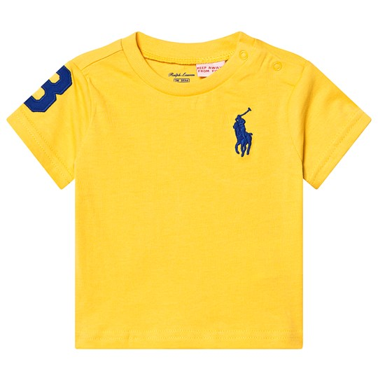 Ralph Lauren Yellow Pony Tee 012
