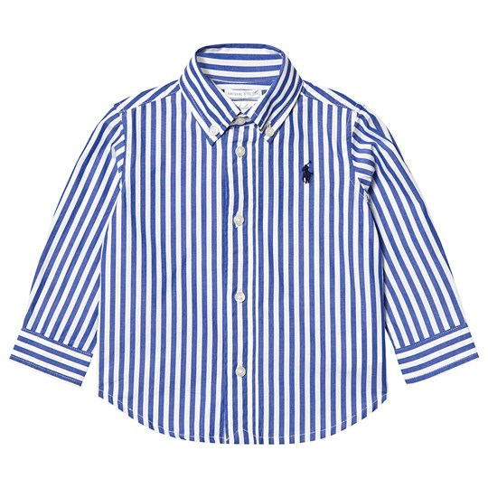 Ralph Lauren Blue Stripe Shirt 001