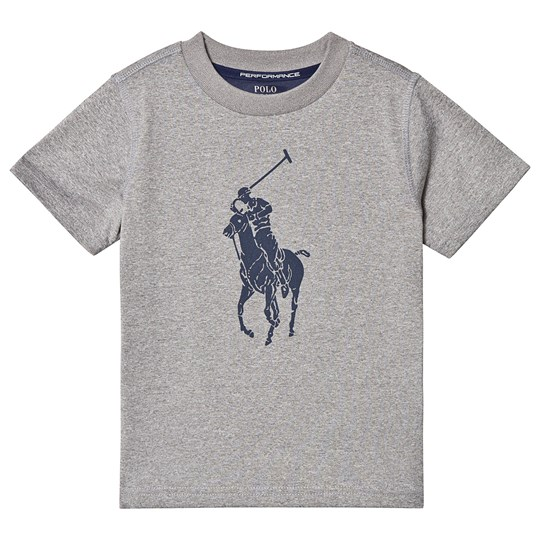 Ralph Lauren Grey Big Pony Tech Tee 003