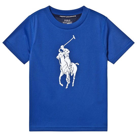 Ralph Lauren Blue Big Pony Tech Tee 008