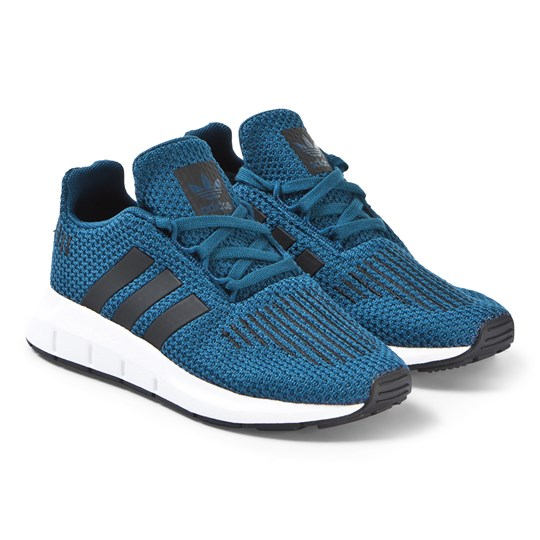 adidas Originals Dark Blue Swift Run Sneakers LEGMAR/CBLACK/FTWWHT