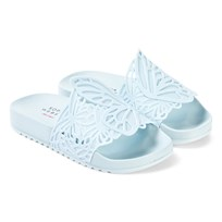e7f4e9c4c7 Sophia Webster Mini Baby Blue Lia Junior Slider With Laser Cut Butterfly  Detail Baby Blue