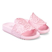 0967c4671d Sophia Webster Mini Baby Pink Lia Junior Slider With Laser Cut Butterfly  Detail Baby Pink