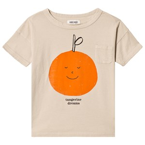 Image of Bobo Choses Tangerine Dreams Short Sleeve T-Shirt Feather Grey 8-9 år (3125281657)