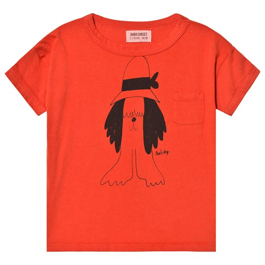 Bobo Choses Paul's Short Sleeve T-Shirt Red Clay Red Clay
