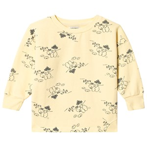 Image of Bobo Choses Tangerine Round Neck Sweatshirt Mellow Yellow 6-7 år (3125302597)