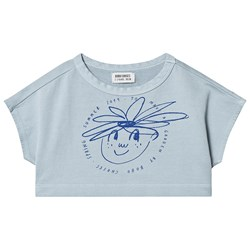 Bobo Choses Daisy Cropped Sweatshirt Ashley Blue