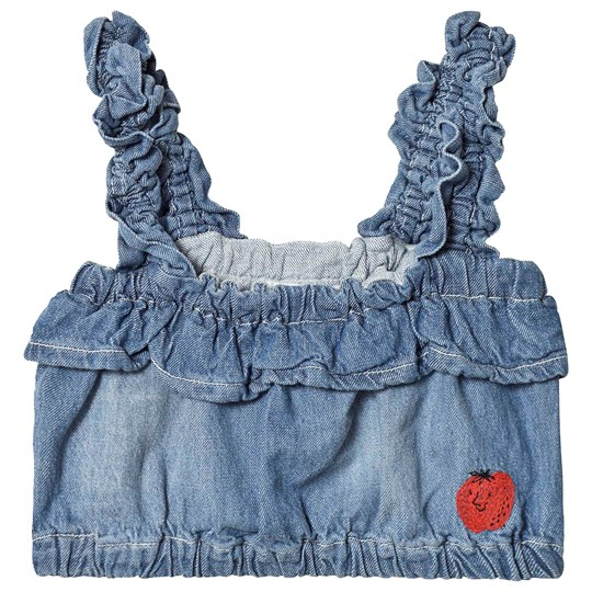 Bobo Choses Volang Denim Topp Ashley Blue Ashley Blue