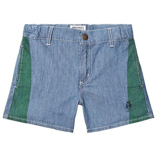 Bobo Choses Paul's Denim Shorts Ashley Blue Ashley Blue
