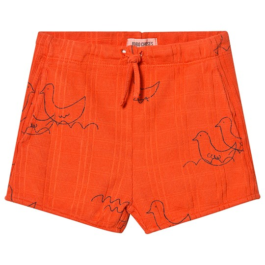 Bobo Choses Geese Shorts Red Clay Red Clay