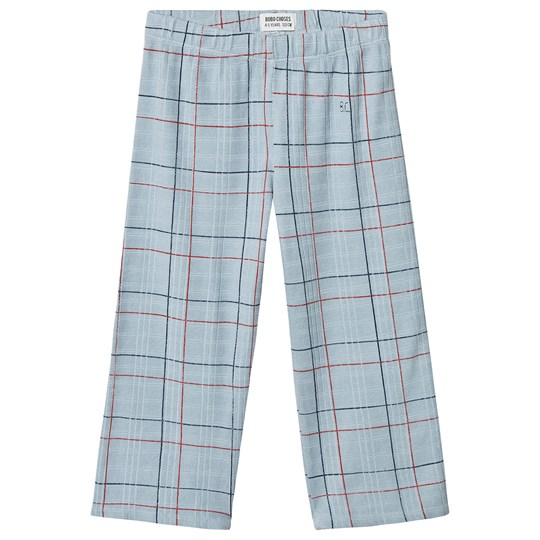 Bobo Choses Lines Straight Pants Ashley Blue Ashley Blue