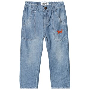 Image of Bobo Choses Paul's Dog Jeans Ashley Blue 4-5 år (3125289867)