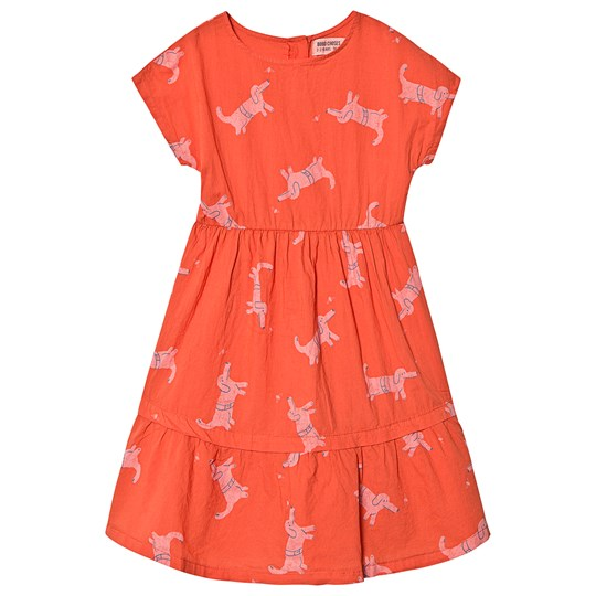 Bobo Choses Dogs Princess Dress Red Clay Red Clay