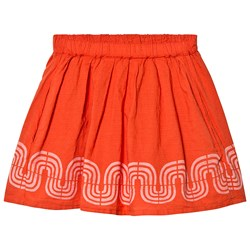 Bobo Choses Road Flared Skirt Red Clay