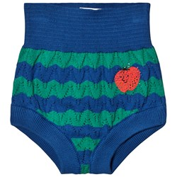 Bobo Choses Strawberry Knitted Bloomers Seaport
