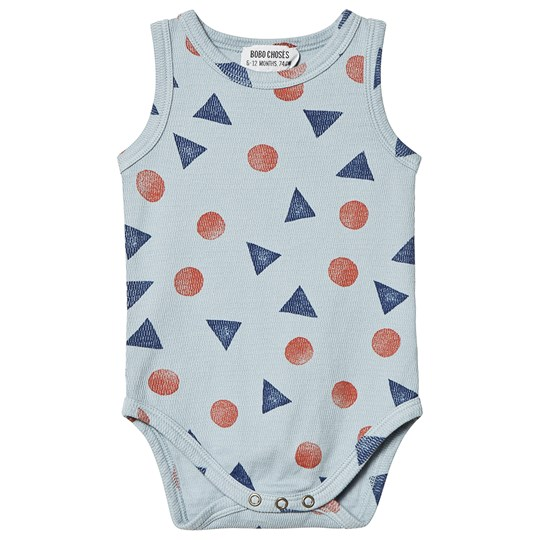 Bobo Choses Pollen Tank Baby Body Ashley Blue Ashley Blue