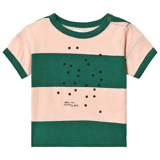 Bobo Choses Bees Linne T-shirt Rose Dust Rose Dust