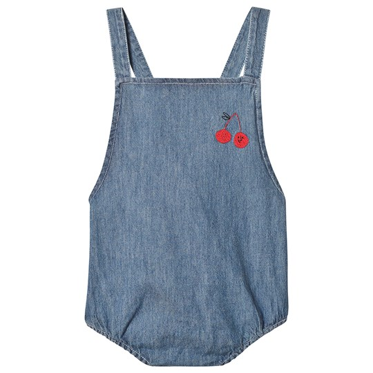 Bobo Choses Cherry Romper Ashley Blue Ashley Blue