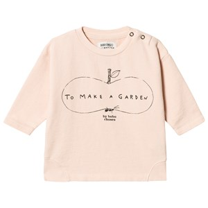 Image of Bobo Choses Ant and Apple Round Neck Sweatshirt Rose Dust 18-24 mdr (3125295927)