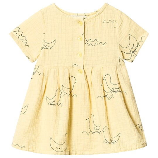 Bobo Choses Geese Princess Dress Mellow Yellow Mellow Yellow