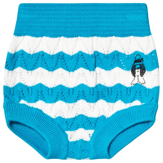 Bobo Choses Paul's Knitted Bloomers Ashley Blue Ashley Blue